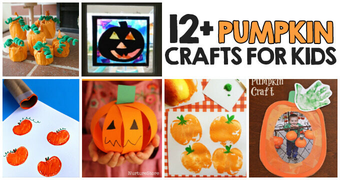 12+ Pumpkin Crafts For Kids