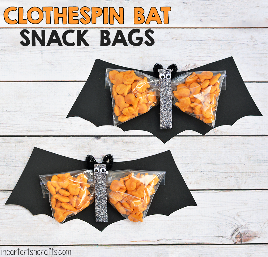 Clothespin Bat Preschool Snack