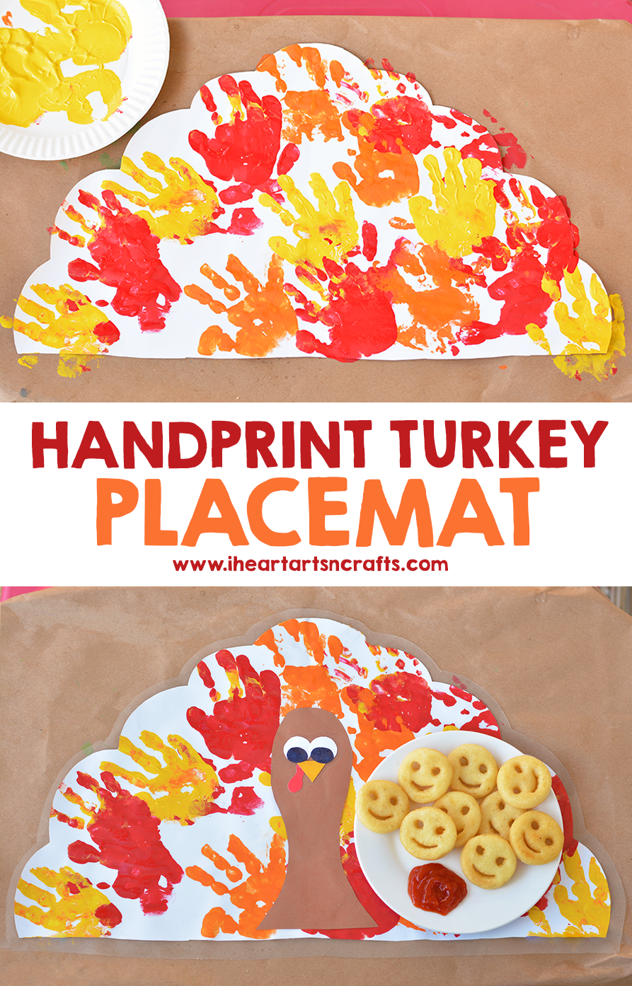 Thanksgiving Placemat Craft For Kids