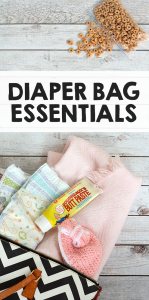 Diaper Bag Essentials - Packing The Perfect Diaper Bag