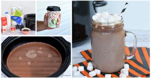 Creamy Crock Pot Hot Chocolate