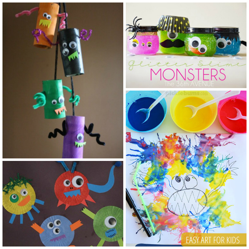 halloween-monster-crafts