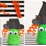 Foam Cup Witch Kids Craft