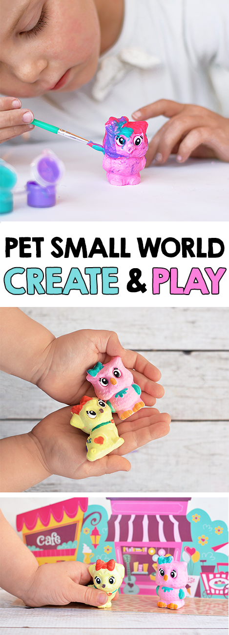 Pet Small World Imaginative Play - Create your own pets and play!