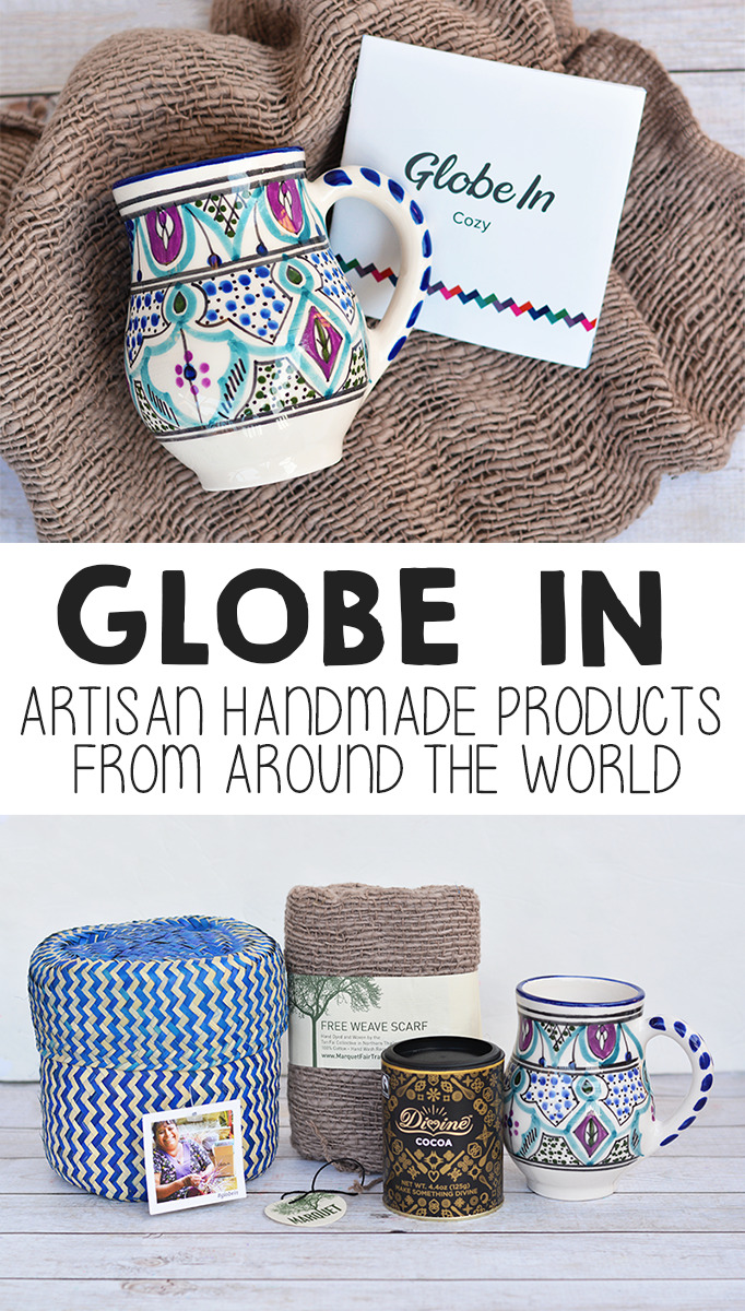 Globe In Artisan Box - Artisan Made Products From Around The World