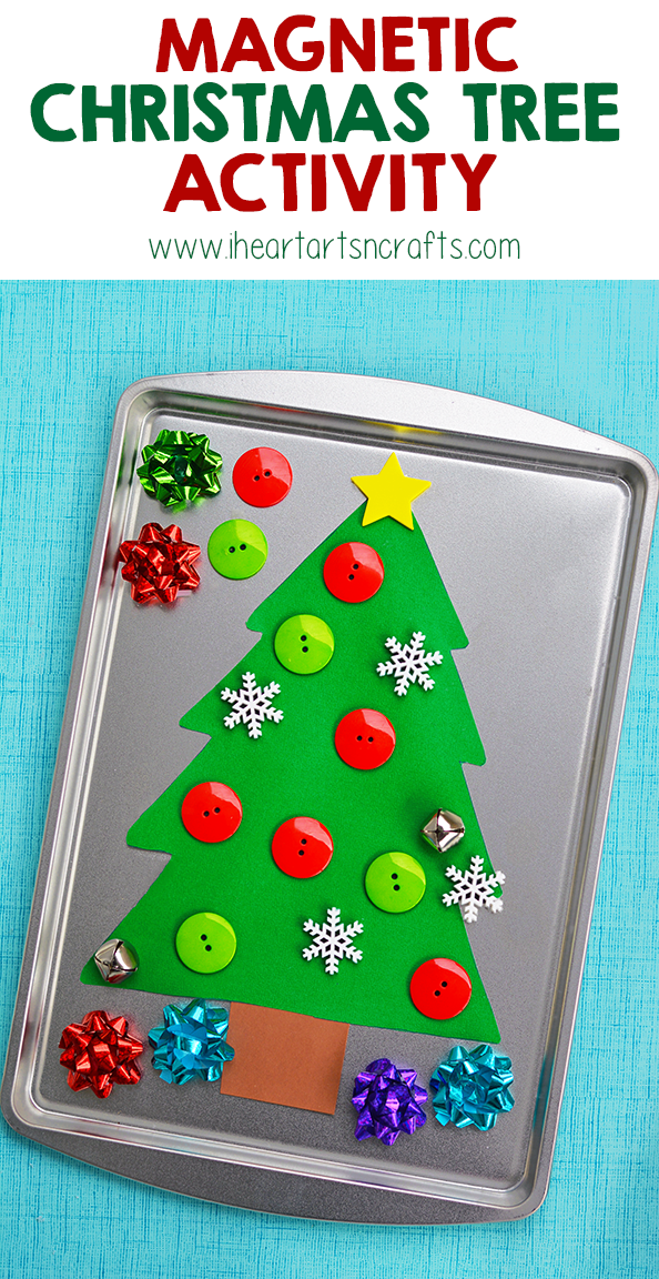 Magnetic Christmas Tree Activity