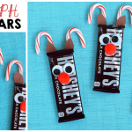 Rudolph Reindeer Candy Bars