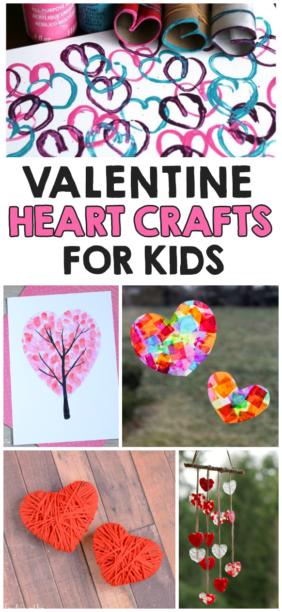 14 valentine 39 s day heart crafts for kids i heart arts n for Art n craft for toddlers