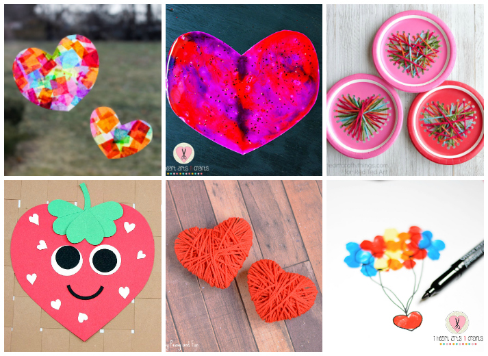 14 valentine 39 s day heart crafts for kids i heart arts n for Valentine day crafts for kids