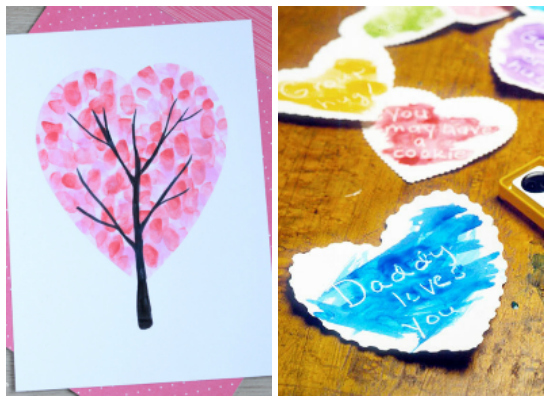 Valentine's Day Heart Kids Crafts