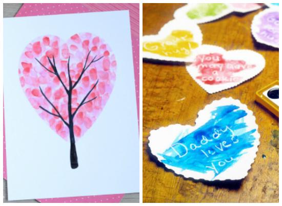 Valentine's Day Heart Kids Crafts