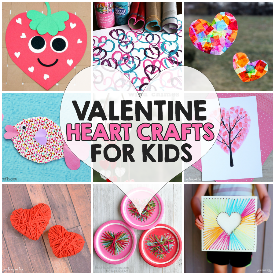 14 valentine u0027s day heart crafts for kids i heart arts n crafts