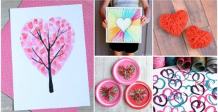 14 Valentine's Day Heart Crafts For Kids