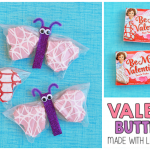 Valentine Snack Cakes Butterfly Treat