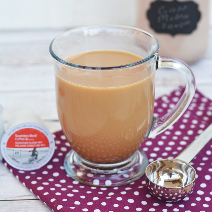 Homemade Coconut Mocha Coffee Creamer
