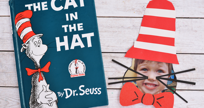 Cat In The Hat Craft For Kids