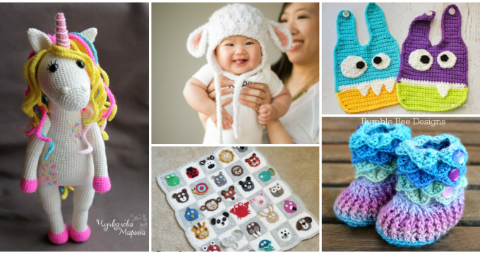 The Cutest Crochet Patterns For Babies