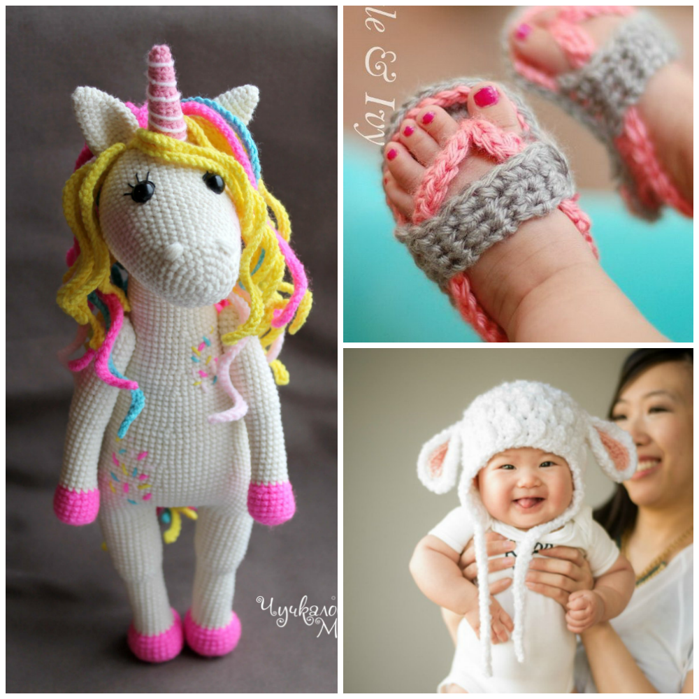 Beginner Crochet Patterns For Baby Toys : The Cutest Crochet Patterns For Babies - I Heart Arts n Crafts
