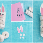 Easter Bunny Donuts Kids Snack Idea