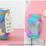 Mother's Day Mason Jar Votives