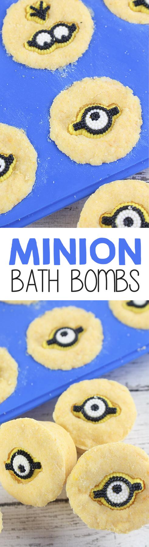Minion Bath Bombs Recipe