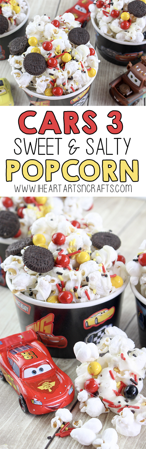 Cars 3 Sweet and Salty Popcorn