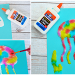 Jellyfish Salt Painting Activity For Kids