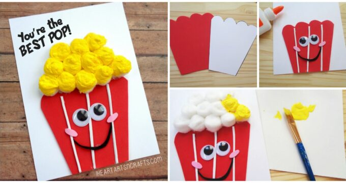 """Father's Day """"You're The Best Pop"""" Popcorn Card"""