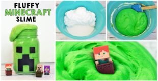 Fluffy Minecraft Slime Recipe