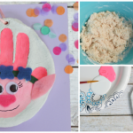 Handprint Trolls Salt Dough Ornament