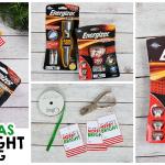 Christmas Flashlight Gift Tag – Stocking Stuffer Ideas For Dad