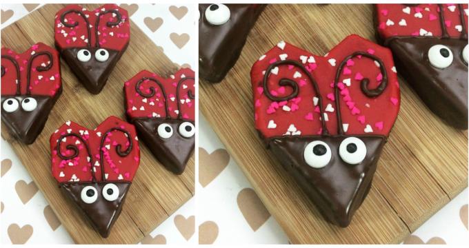 Love Bug Brownies