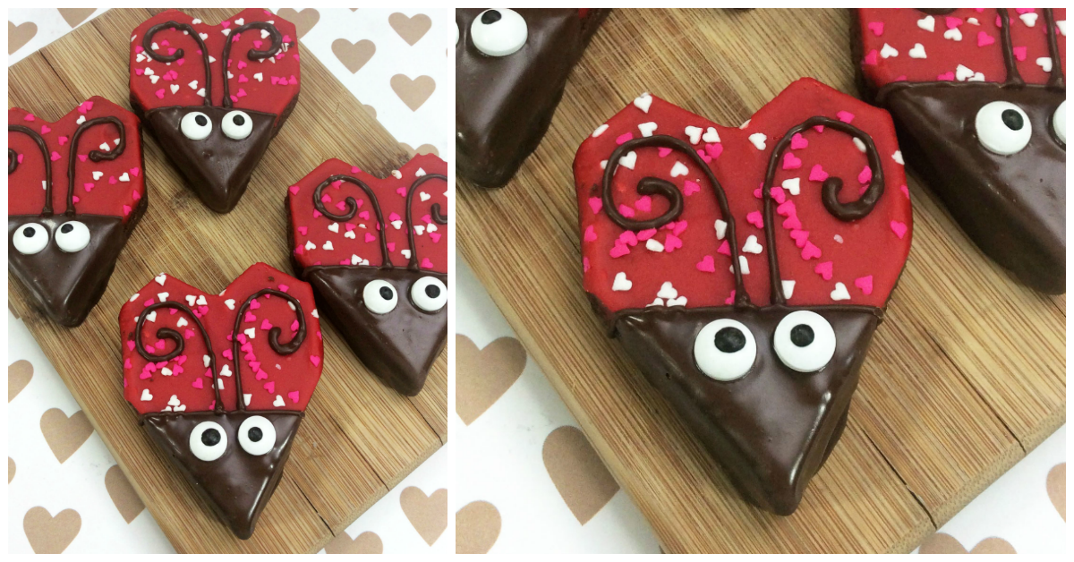 Love bug brownies i heart arts n crafts for Arts and crafts for brownies