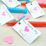 """""""You Make My Heart Sing"""" Valentine and Printable"""