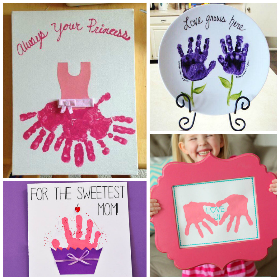 12 Adorable Handprint Mother S Day Crafts For Kids I Heart Arts N Crafts