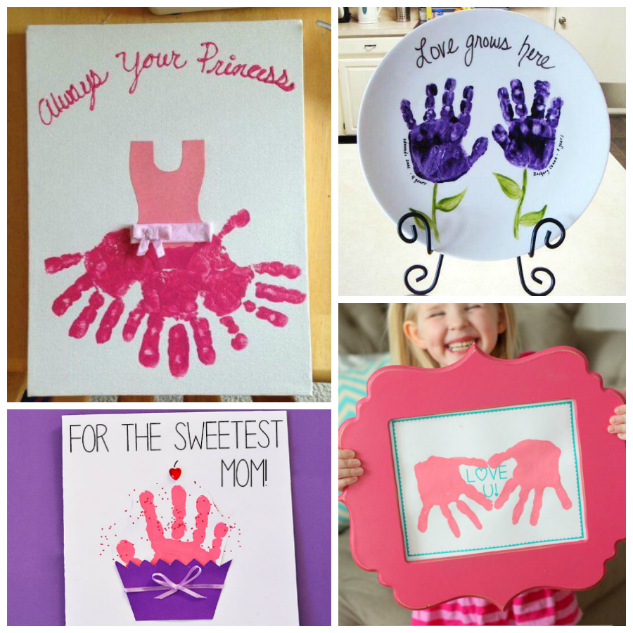 12 Adorable Handprint Mother S Day Crafts For Kids I Heart Arts N