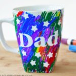 Father's Day Scribble Mug Kids Craft