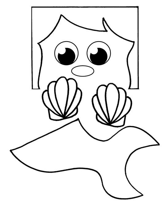 Paper Bag Mermaid Craft For Kids - I Heart Arts n Crafts
