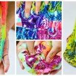 How To Make Rainbow Foil Slime – Lisa Frank Inspired Slime