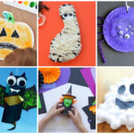 Easy Halloween Kid Crafts