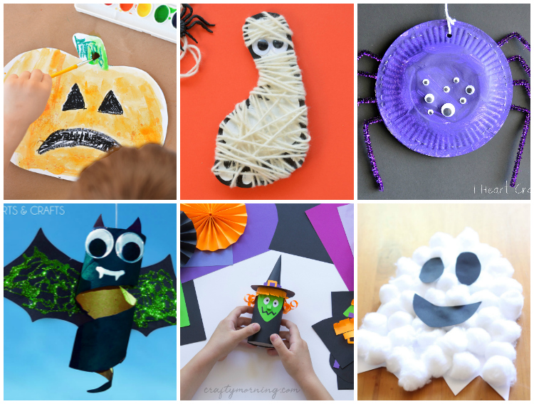 Halloween Crafts For Kids I Heart Arts N Crafts