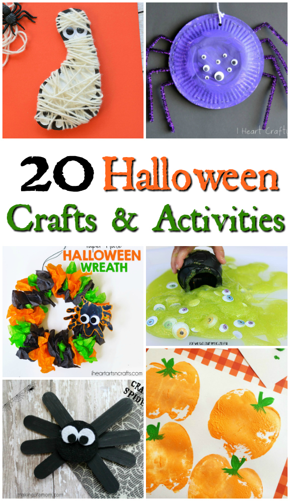 Fun Halloween Crafts for toddlers
