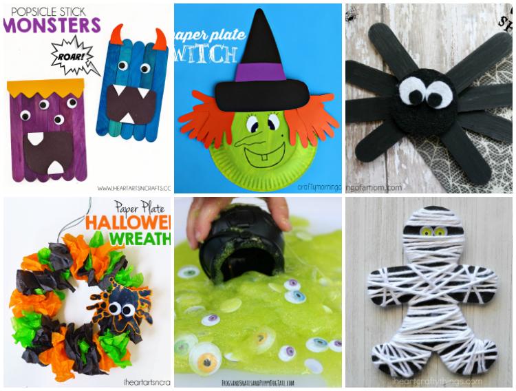 Halloween Crafts and Activities for Preschool