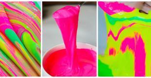 Tie-Dye Slime