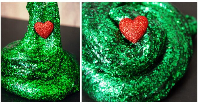 Grinch Slime Recipe