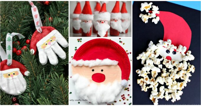 15 Creative Santa Crafts For Kids To Make