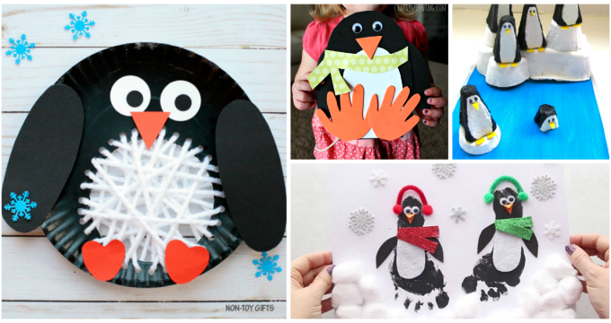 15 + Cute and Creative Penguin Crafts For Kids