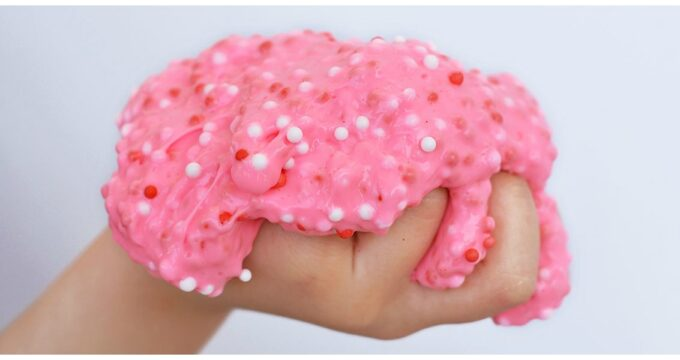 Valentine Floam Slime Recipe