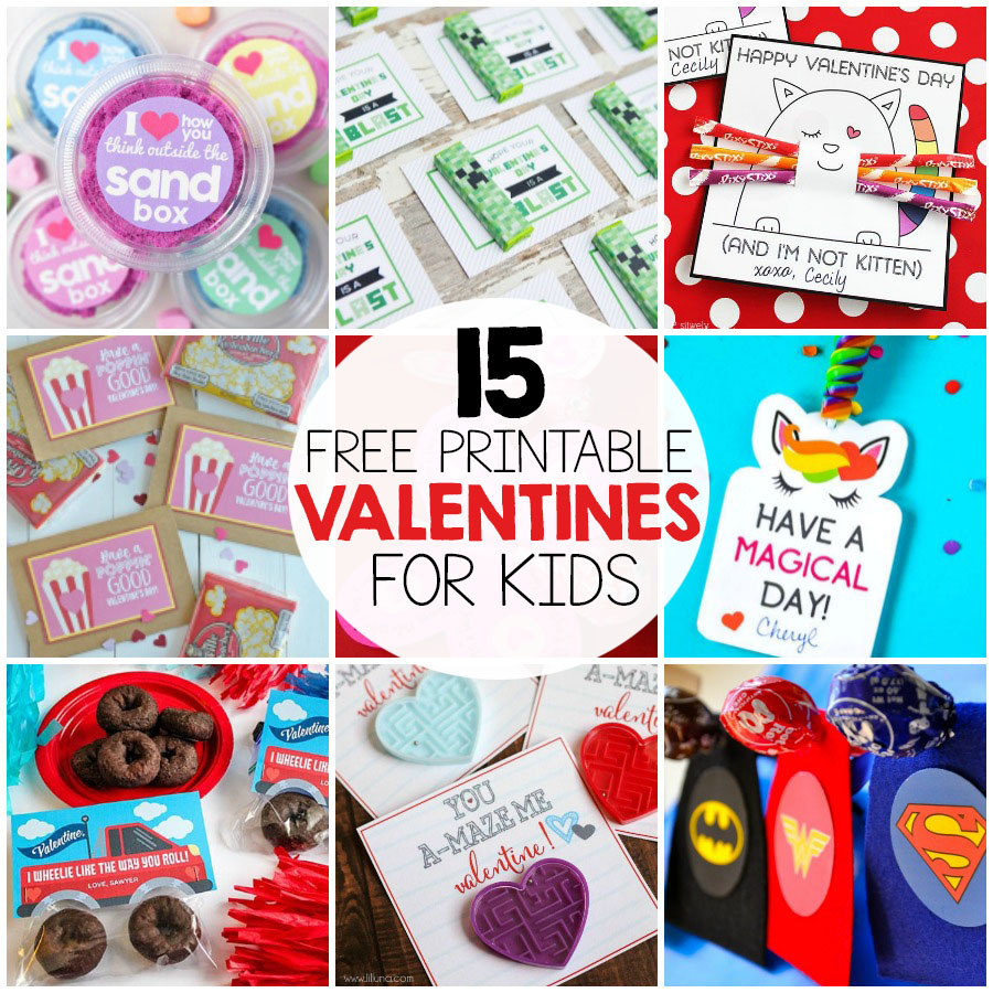 picture regarding Free Printable Valentines identified as The Perfect Cost-free Printable Valentines For Children - I Centre Arts n