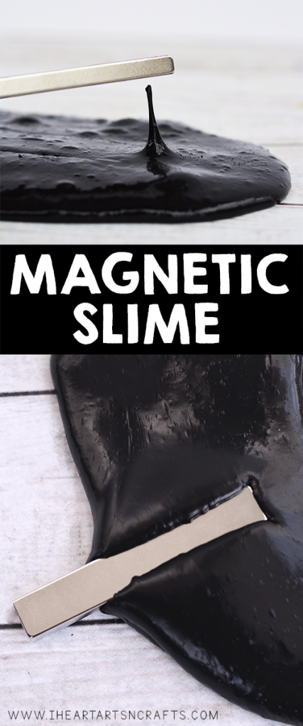 Learn how to make magnetic slime with iron oxide powder and saline solution. You can play with it like regular slime but it will react to a strong magnetic field!